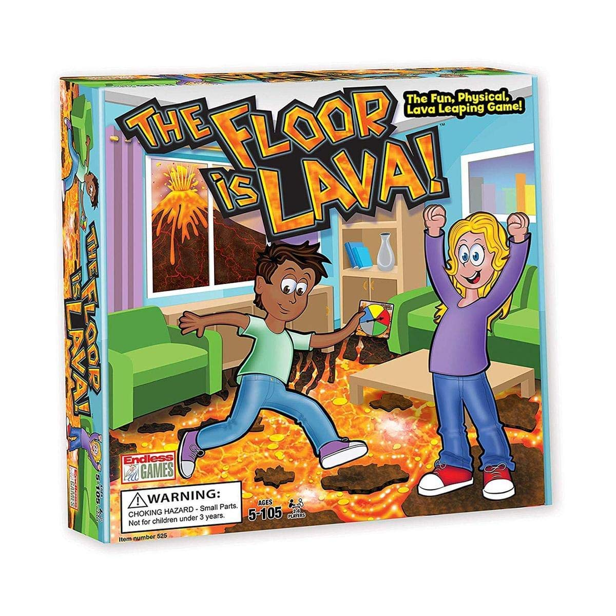 The Floor is Lava - Top 3 Christmas Party Games of 2018