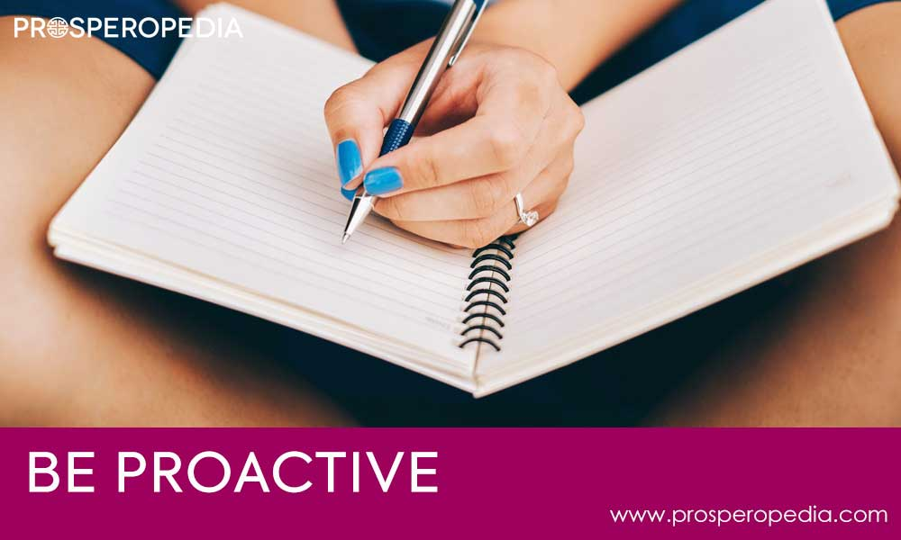 1st Habit Be Proactive - 7 Habits of Highly Effective People
