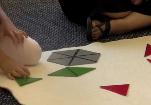 Constructive Triangles Montessori Program Sensory Education