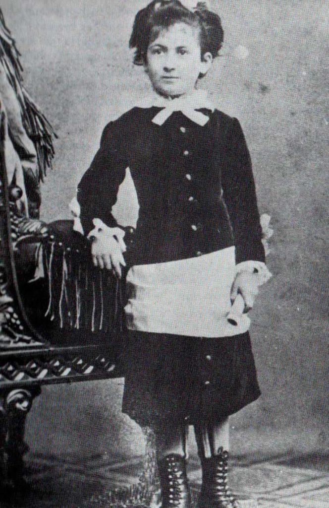 Young Maria Montessori - Inventor of Sensory Education Method