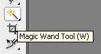 Photoshop Magic Wand Tool