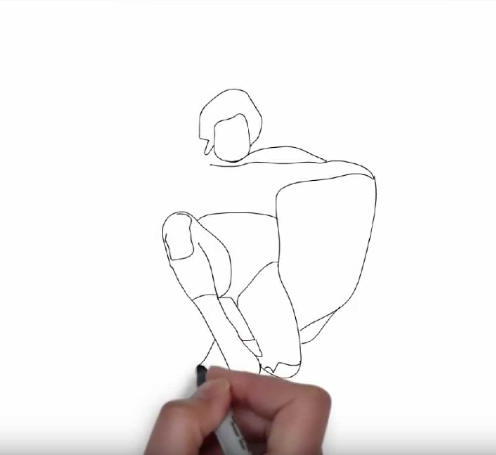 Videoscribe Drawing Animation Nacho Libre Illustrator Graphic
