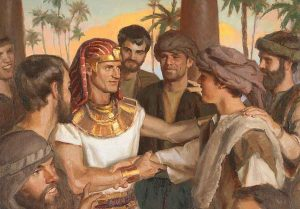 Joseph in Egypt and Example of Prosperity
