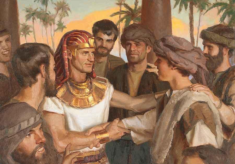 Joseph in Egypt and Example of Prosperity