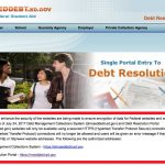 MyEdDebt.gov Debt Resolution Portal for Defaulted Student Loans and Grants