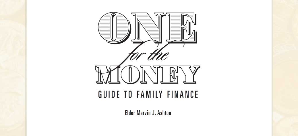 One for the Money, Guide to Family Finance