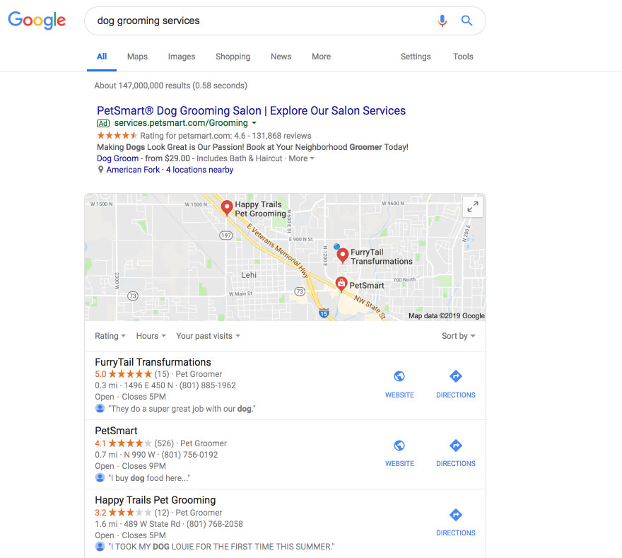 Using Google Local to Attract Customers
