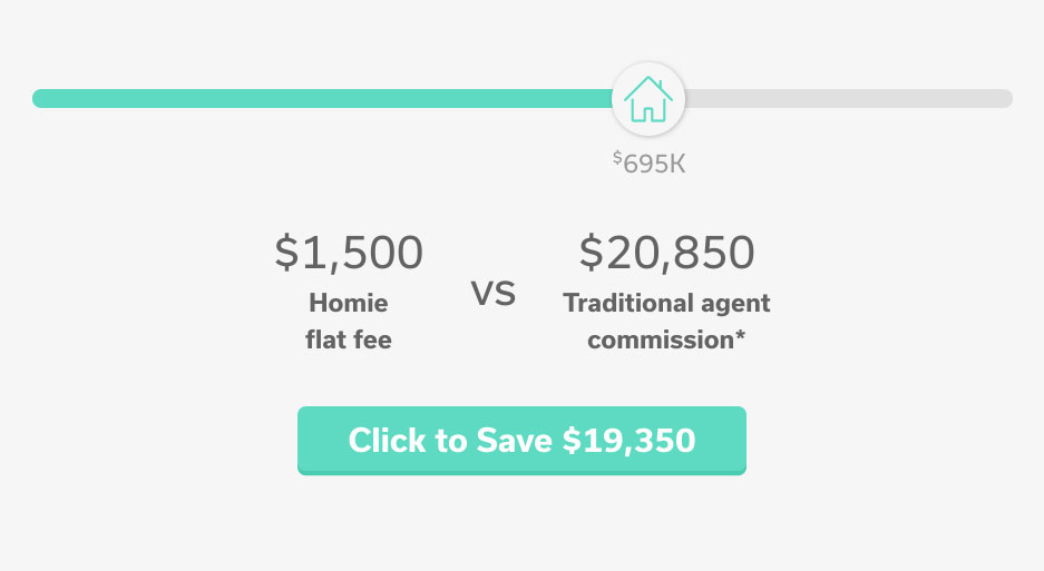 Homie Home Listing Cost Savings Calculator