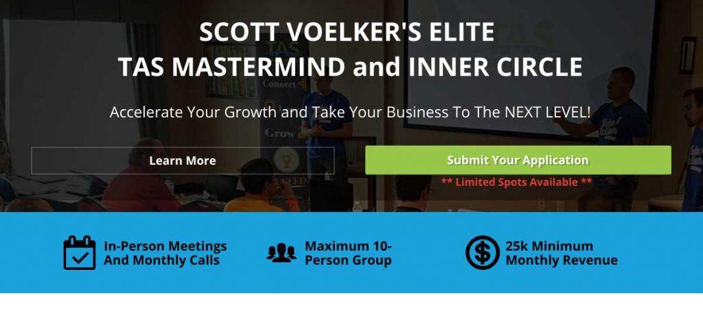 Scott Voelker Elite TAS Inner Circle Mastermind Group