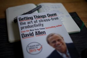 Getting Things Done Book David Allen Productivity Methodology