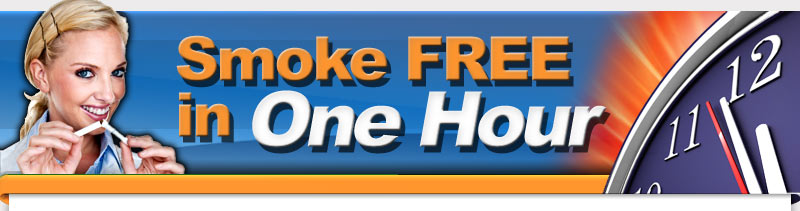 Smoke Free in One Hour Smoking Cessation Program Hypnosis Joan Chionilis