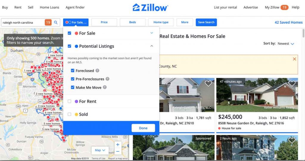 Zillow Search Properties For Sale Near Me