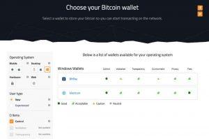 Choosing a Bitcoin Wallet Features