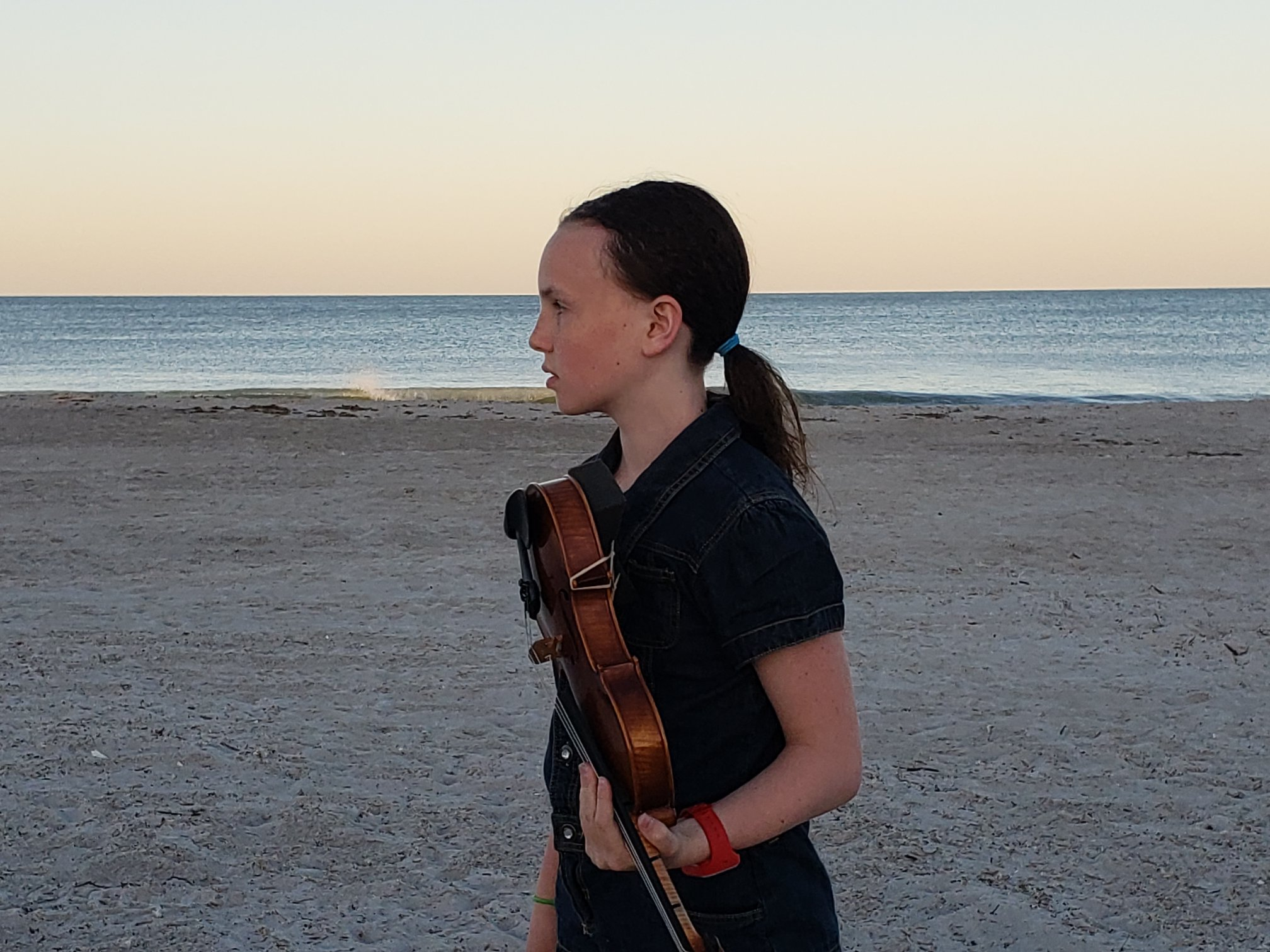 Homeschool Maylee Violin Beach Florida