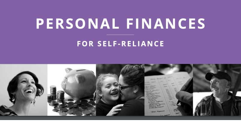 Personal Finances Self-Reliance LDS Church