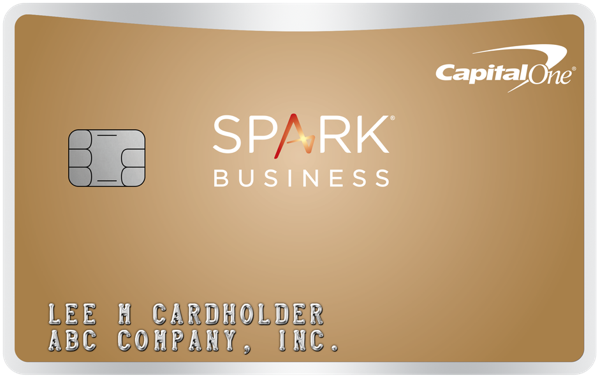 Capital One Spark Business Cash Back Credit Card