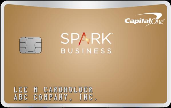 Capital One Spark Business Cash Back Credit Card