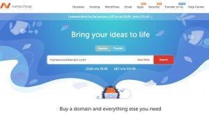 Register New Domain for Website